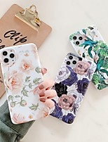 cheap -Case For Apple iPhone 11 / iPhone 11 Pro / iPhone 11 Pro Max Shockproof / Ultra-thin / Frosted Back Cover Flower PC