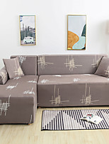 cheap -Art Fills Print Dustproof All-powerful Slipcovers Stretch L Shape Sofa Cover Super Soft Fabric Couch Cover with One Free Pillow Case