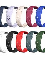 abordables -Bracelet de montre pour Samsung Galaxy Watch Active / Samsung Galaxy Watch Active 2 Samsung Galaxy Sport Band Bracelet en silicone