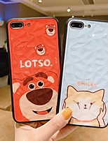 cheap -Case For Apple iPhone 11 / iPhone XS / iPhone XR Shockproof Back Cover Cat / Word / Phrase / Animal PC