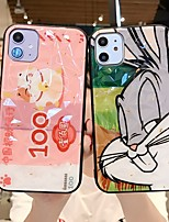 cheap -Case For Apple iPhone 11 / iPhone XR / iPhone XS Max Shockproof / Dustproof / Pattern Back Cover Animal / Cartoon PC