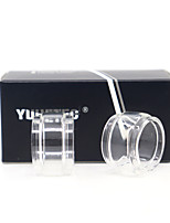 cheap -YUHETEC Fat Glass tube for Vandy vape Berserker V1.5 mini / tfv8 baby EU Atomizer 2PCS
