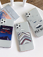 cheap -Case For Apple iPhone 11 / iPhone 11 Pro / iPhone 11 Pro Max Shockproof Back Cover Transparent / Scenery TPU