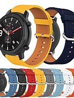 abordables -bracelet de montre en cuir de luxe pour huami amazfit gtr 47mm / stratos 3 / stratos 2 2s / pace watch bracelet remplaçable bracelet dragonne bracelet