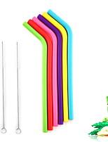 cheap -Drinkware Straws Stainless Steel Portable Casual / Daily