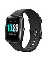 abordables -ID205L Smartwatch Bluetooth Tracker de remise en forme pour iOS / téléphones Android prend en charge le moniteur de fréquence cardiaque / suivi du sommeil / étanche