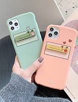 cheap -Case For Apple iPhone 11 / iPhone 11 Pro / iPhone 11 Pro Max Shockproof Back Cover Solid Colored / Cartoon TPU