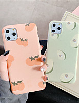 cheap -Case For Apple iPhone 11 / iPhone 11 Pro / iPhone 11 Pro Max IMD / Pattern Back Cover Food TPU for iPhone X XS XR XS MAX 8 8PLUS 7 7PLUS 6 6PLUS 6S 6S PLUS