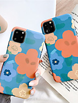cheap -Case For Apple iPhone 11 / iPhone 11 Pro / iPhone 11 Pro Max IMD / Pattern Back Cover Flower TPU for iPhone X XS XR XS MAX 8 8PLUS 7 7PLUS 6 6PLUS 6S 6S PLUS