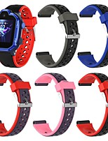 cheap -Watch Band for HUAWEI 3 Pro Huawei Sport Band / Modern Buckle Silicone Wrist Strap