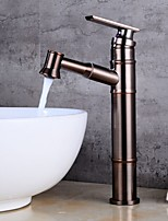 cheap -Bathroom Sink Faucet - Standard Electroplated Centerset Single Handle One HoleBath Taps