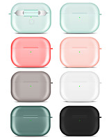 cheap -Case For AirPods Pro Shockproof / Dustproof / Frosted Headphone Case Soft