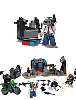 cheap -Building Blocks 280 pcs Military compatible Legoing Simulation Military Vehicle All Toy Gift / Kid's