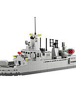 cheap -Building Blocks 528 pcs Military compatible Legoing Simulation Boat All Toy Gift / Kid's