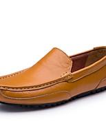 abordables -Homme Chaussures de confort Cuir Automne hiver Mocassins et Chaussons+D6148 Noir / Marron / Bleu