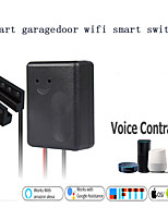 cheap -WIFI Smart Garage Door Switch/Wireless Remote Control/Graffiti Smart Garage Door Timing/ intelligent Wireless 100-240 V/SGDS-01CKM