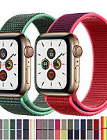 cheap -Band For Apple Watch Series 3/2/1 38MM 42MM Nylon Soft Breathable Replacement Strap Sport Loop for iwatch series 4 5 40MM 44MM