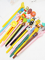 cheap -1 pcs 0.7 mm Ballpoint Pen Multi-colors PVC