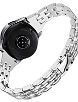 cheap -Watch Band for Samsung Galaxy Watch 42mm / Samsung Galaxy Watch Active / Samsung Galaxy Watch Active 2 Samsung Galaxy Jewelry Design Stainless Steel Wrist Strap