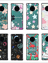 cheap -Case for Huawei scene map Huawei P30 P30 Lite P30 Pro P20 P20 Pro Colorful painted matte embossed PC material TPU 2-in-1 simple borderless mobile phone case