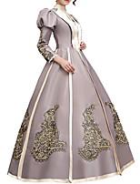 cheap -Dance Costumes Dresses Women's Performance Terylene Appliques Long Sleeve Dress
