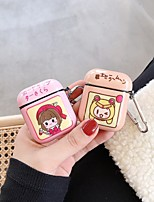 cheap -Case For AirPods Cute / Shockproof / Dustproof Headphone Case Hard