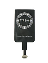 cheap -Micro USB and Type C Universal Qi Wireless Charger Receiver for Android Phone /Pad Coil Adapter Receptor Receiver