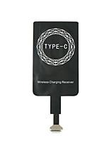 abordables -micro usb et type c universel qi sans fil chargeur récepteur pour android téléphone / pad bobine adaptateur récepteur récepteur