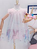 cheap -Kids Girls' Floral Dress Blushing Pink