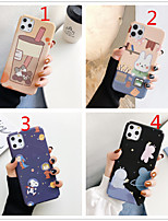 cheap -Case for Apple scene map iPhone 11 X XS XR XS Max 8 Cartoon pattern fine frosted PC material water sticker all-inclusive mobile phone case