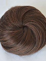 cheap -Synthetic Wig kinky Straight Asymmetrical Wig Short Light Brown Brown Natural Black Synthetic Hair 2 inch Women's Best Quality Dark Brown Brown