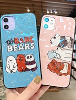 cheap -Case For Apple iPhone 11 / iPhone XS / iPhone XR Shockproof Back Cover Solid Colored / Cartoon / Panda PC