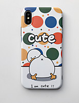 cheap -Case for Apple scene map iPhone 11 11 Pro 11 Pro Max X XS XR XS Max 8 Cartoon pattern thickened frosted TPU material IMD process all-inclusive mobile phone case CKF