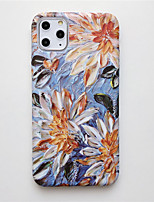 cheap -Case for Apple scene map iPhone 11 X XS XR XS Max 8 Oil painting flower pattern fine frosted liquid TPU material IMD process all-inclusive mobile phone case