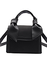 cheap -Women's Bow(s) Polyester / PU Top Handle Bag Solid Color Black / Red / Green
