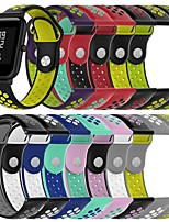 cheap -Watch Band for Amazfit GTS / Samsung Galaxy Watch Active 2 Samsung Galaxy Sport Band Silicone Wrist Strap