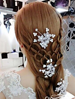 cheap -Women's Trendy Fashion Bridal Imitation Pearl Plastic Alloy Hair Sticks Wedding Party