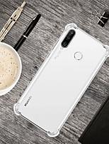 cheap -Case For Huawei Huawei P20 / Huawei P20 Pro / Huawei P20 lite Shockproof Back Cover Transparent TPU