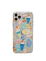 cheap -Case for Apple scene map iPhone 11 X XS XR XS Max 8 Cartoon pattern painted high-quality TPU material all-inclusive mobile phone case