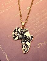 cheap -Men's Pendant Necklace Classic Mini Simple Chrome Gold Golden 2 40 cm Necklace Jewelry 1pc For Daily