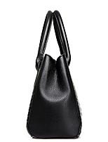 cheap -Women's PU Top Handle Bag Solid Color Black