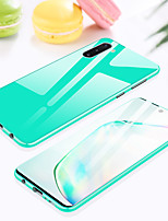 cheap -Case For Samsung Galaxy S9 / S9 Plus / Note 9 Shockproof Full Body Cases Transparent / Solid Colored Metal
