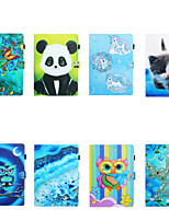 cheap -Case For Apple iPad Air / iPad Mini 3/2/1 / iPad Mini 4 Card Holder / Shockproof Full Body Cases Cartoon TPU