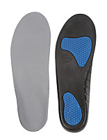 cheap -1 Pair Shock Absorption Insole & Inserts Cloth / Gel Sole Spring Unisex Black