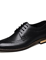cheap -Men's Formal Shoes Synthetics Spring / Fall & Winter Casual / British Oxfords Non-slipping Black / Brown / Coffee