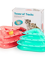 cheap -Interactive Toy Cat Pet Toy 1pc Focus Toy UltraLight Plastic Gift