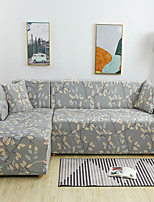 cheap -Plant Print Dustproof All-powerful Slipcovers Stretch Sofa Cover Super Soft Fabric Couch Cover with One Free Pillow Case
