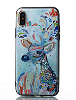 cheap -Case for Apple scene map iPhone 11 X XS XR XS Max 8 Colorful painted matte relief thickened TPU material all-inclusive mobile phone case