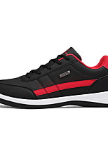 cheap -Men's Comfort Shoes PU Fall & Winter Oxfords Color Block Black / White / Blue