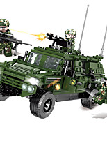 cheap -Building Blocks 446 pcs Military compatible Legoing Simulation Military Vehicle All Toy Gift / Kid's